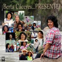 BERTA CACERES COLLAGE