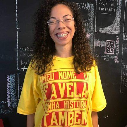 A jornalista e ativista Gizele Martins